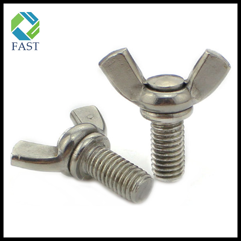 Stainless Steel Wing Bolt