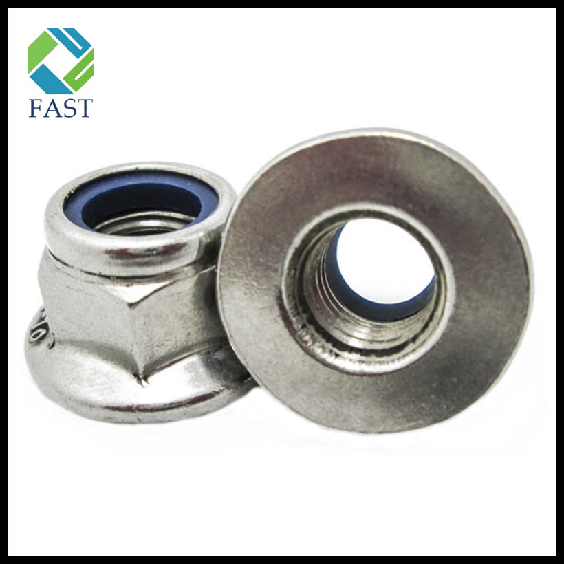 Nylon Hex Flange Nut