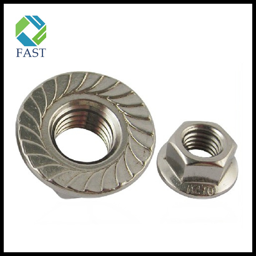 Serrated Hex Flange Nut